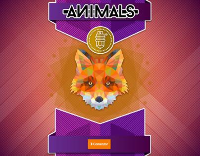 Mini juego web realizado bajo los estándares actuales de html5 y css3. Software ocupado Adobe Illustrator y Adobe Dreamweaver.Imágenes obtenidas de Freepik.