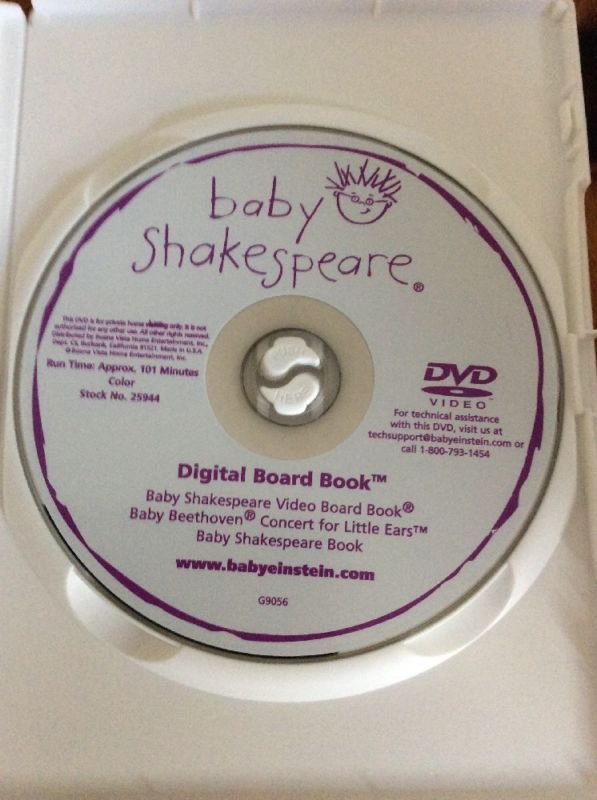 Baby Shakespeare Dvd 2002 Baby Digital Board