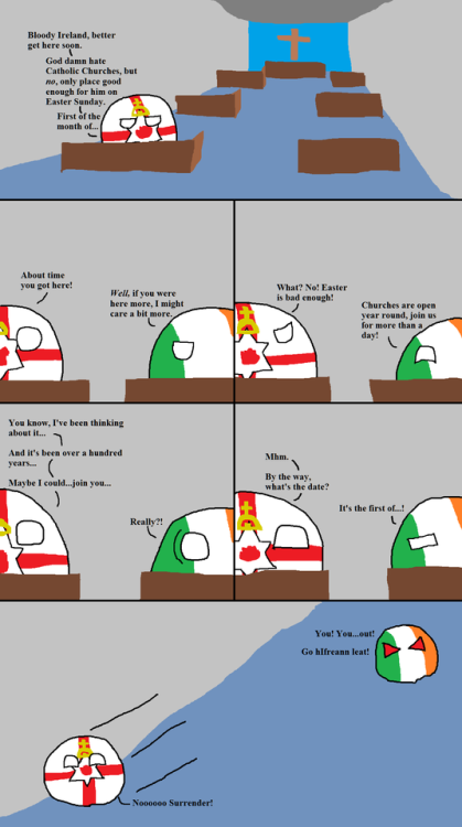 omg! The Good Friday Disagreement via reddit | Countries | Funny