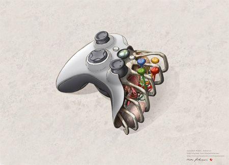 Xbox 360 Controller Anatomy Xbox Xbox Controller Xbox 360 Console