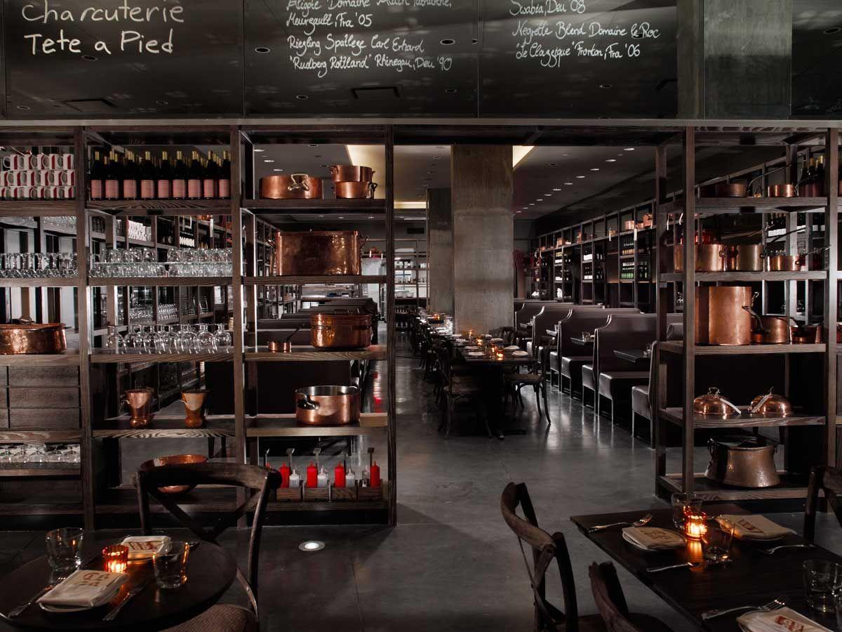 Increíble Cocina Y El Bar Dbgb Patrón - Ideas Del Gabinete de Cocina ...