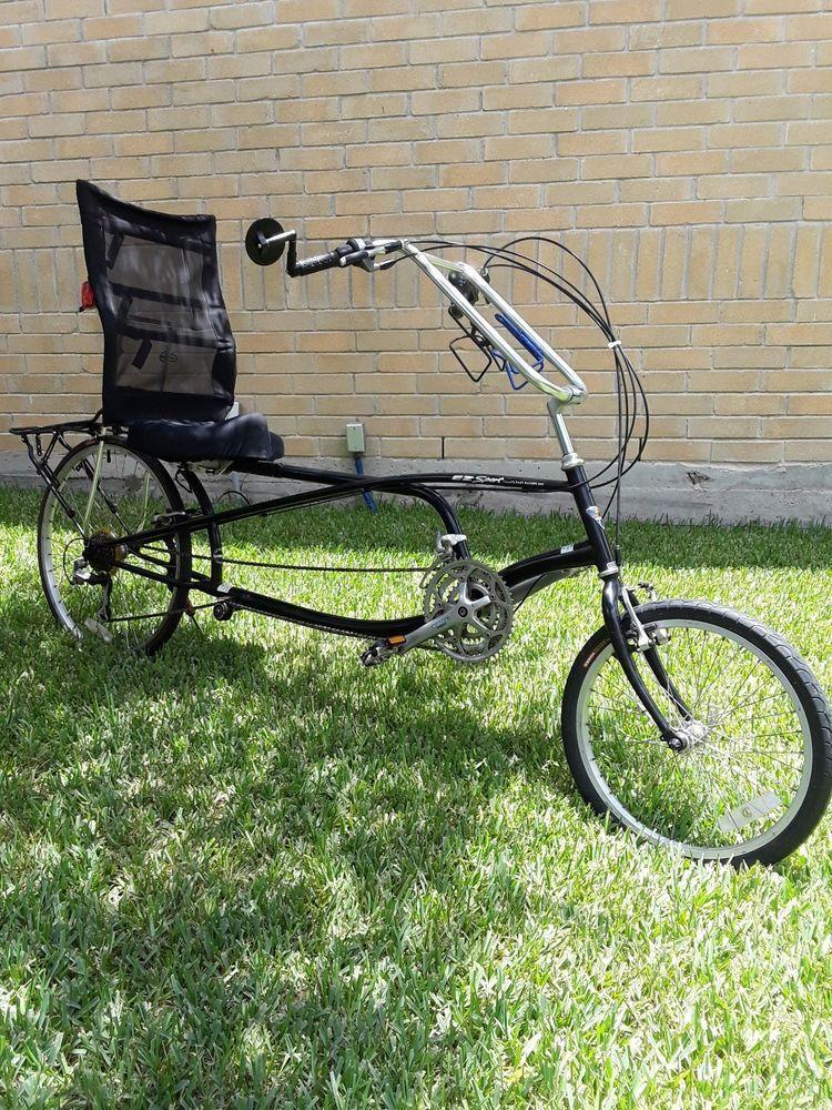 Sun Ez Sport Recumbent Bicycle Designed By Easy Racer W Bacchetta Rack