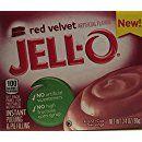 Jello Red Velvet Instant Pudding (Pack of 4)