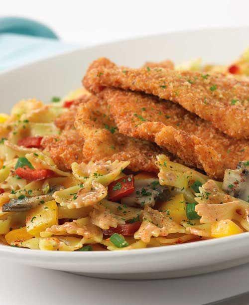 Käsekuchenfabrik Louisiana Chicken Pasta   - Food