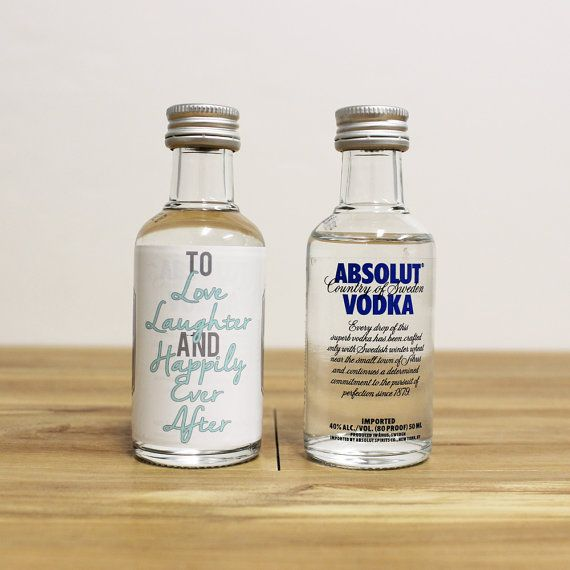 Https Www Etsy Listing 184977059 Custom Mini Bottle Labels Absolut Vodka Ref 20