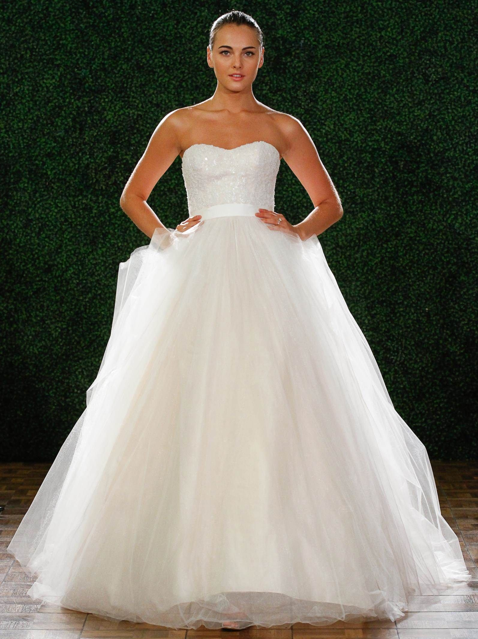 Dreaming about wearing a wedding dress  Fall  Wtoo Brides Paige Gown style   Bridal Dresses