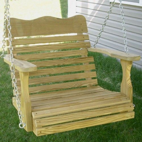 Amish Outdoor Furniture Colonial One Person Swing Chair