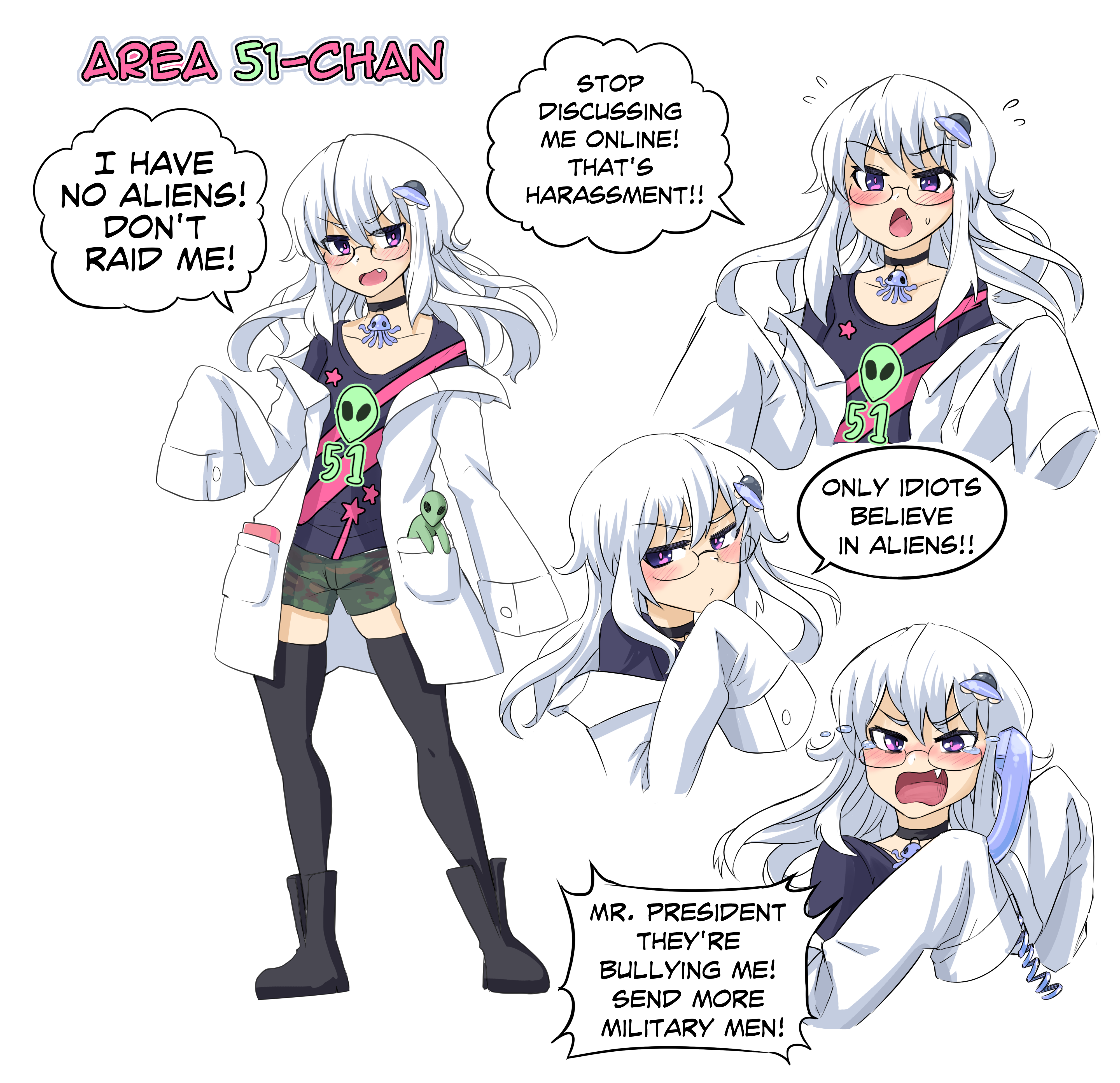 Area 51 Chan Posted By U Merryweatherey Memes Anime Funny Anime