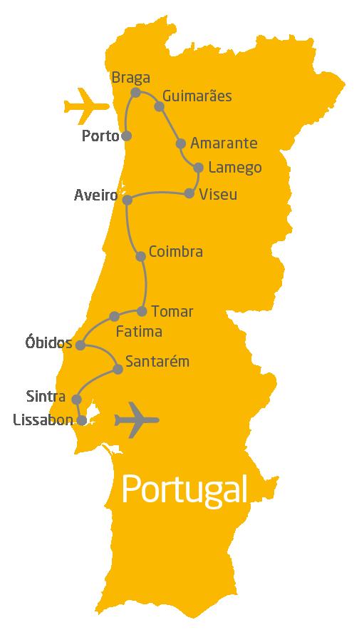 Portugal-Rundreise: 10 Tage von Porto bis nach Lissabon #Portugal #LissabonPortugal #PortugalUrlaub #PortugalReisen #PortugalRoadmap #PortugalRundreise #portugal