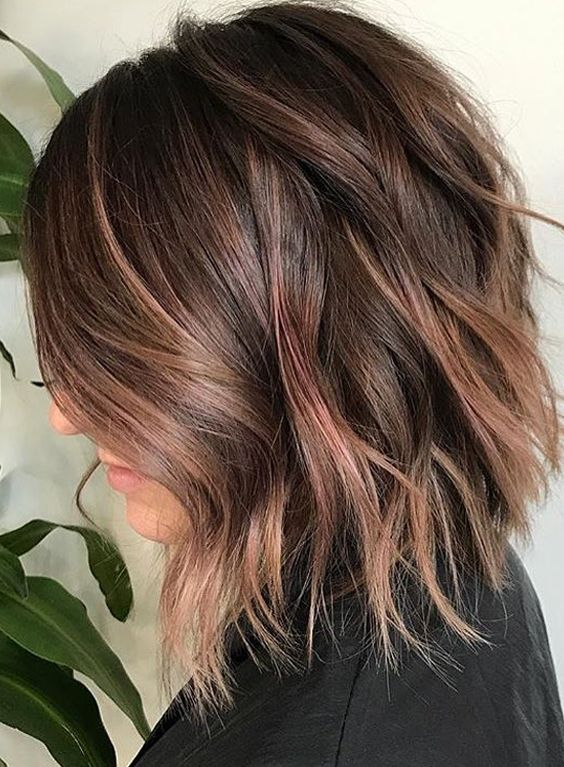 41 Best Fall Winter Lob Hair Color Styles 2017 2018