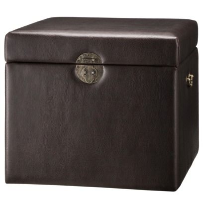 Target Storage Trunk Captivating $64 Accent Furniture Storage Trunk  Brown  Decor Shopping List 2018