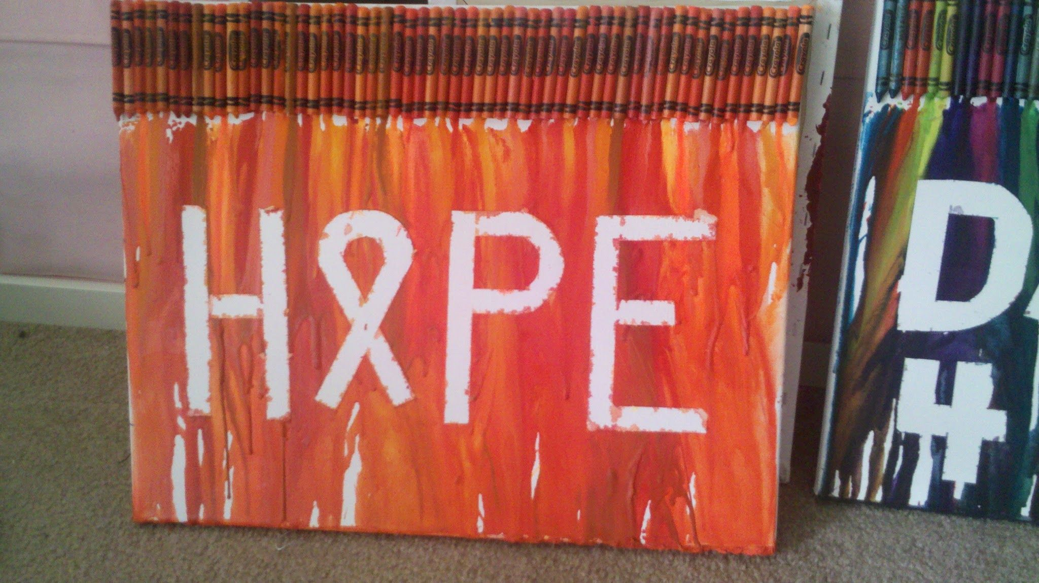 Orange Crayons and Hope