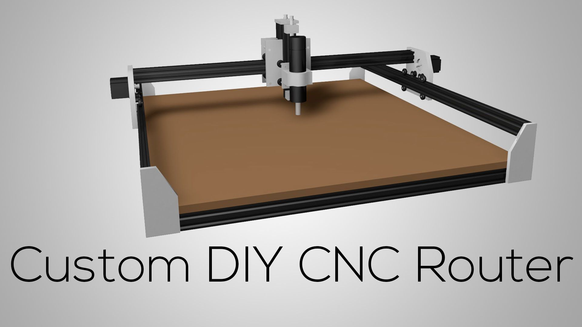 Custom DIY CNC ROUTER 1