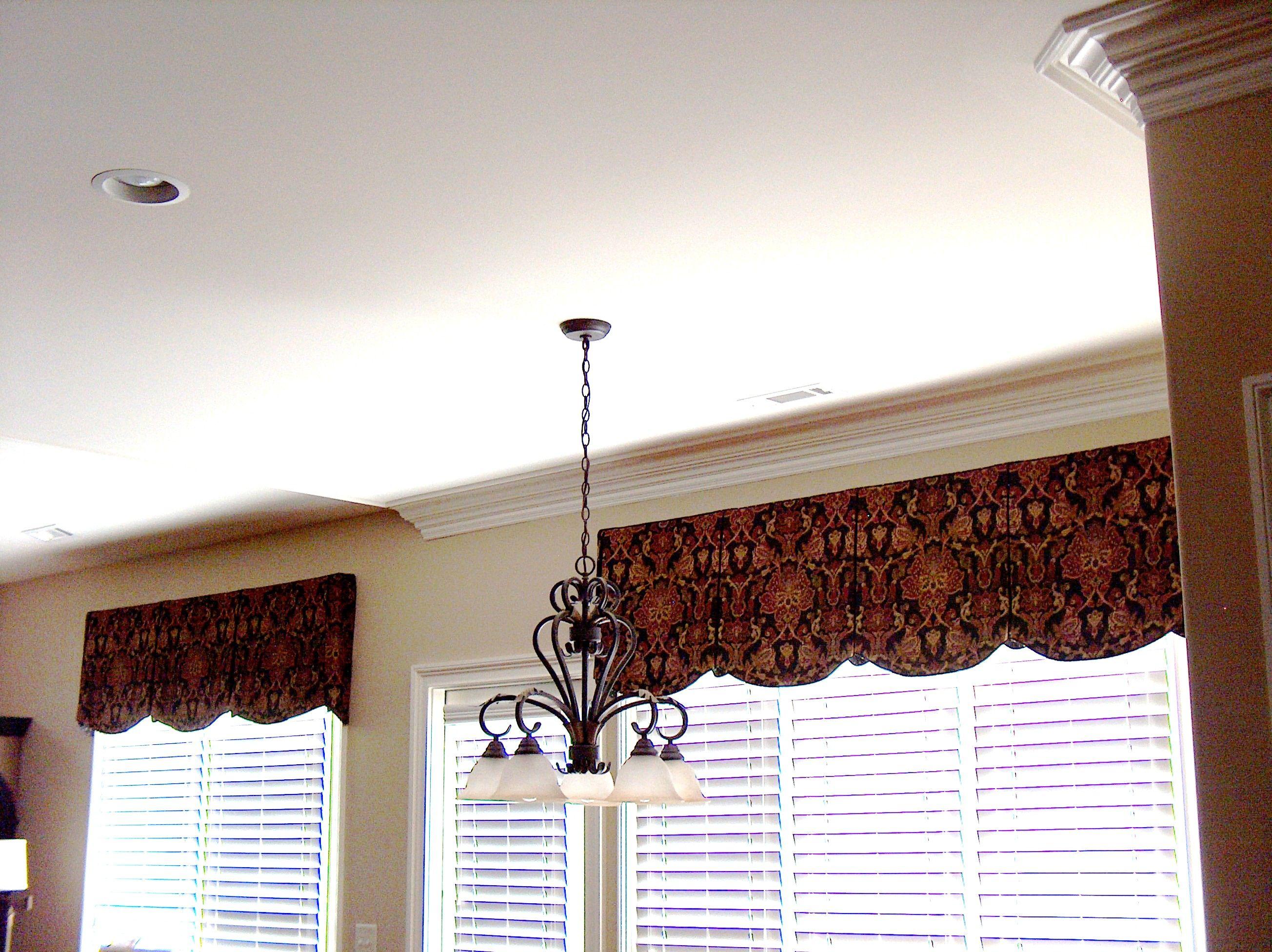 Valances In Keeping Room Valances For Living Room Modern