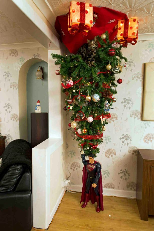 Awesome How To Hang A Christmas Tree Upside Down From Ceiling And Review In 2020 Upside Down Christmas Tree Unique Christmas Trees Christmas Decorations