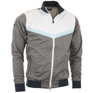 e84c086137e54 Callaway X-Series Golf Windproof Track Jacket High Rise Heather ...