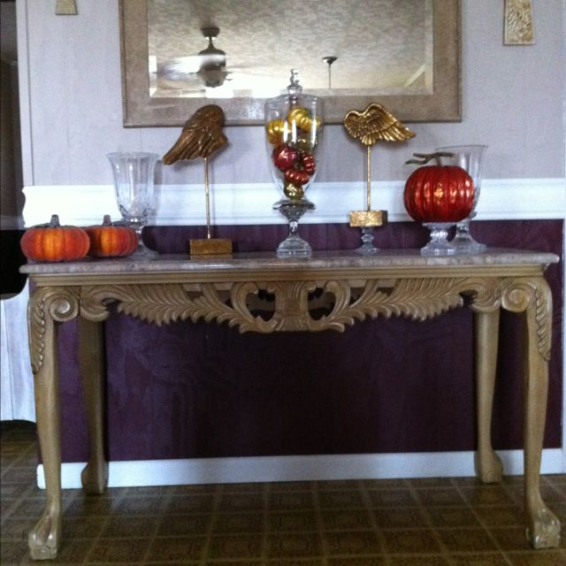 Best hall table decor ideas on pinterest foyer