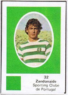 Zandonaide Cromos 78 79 Sporting Sporting Clube De Portugal