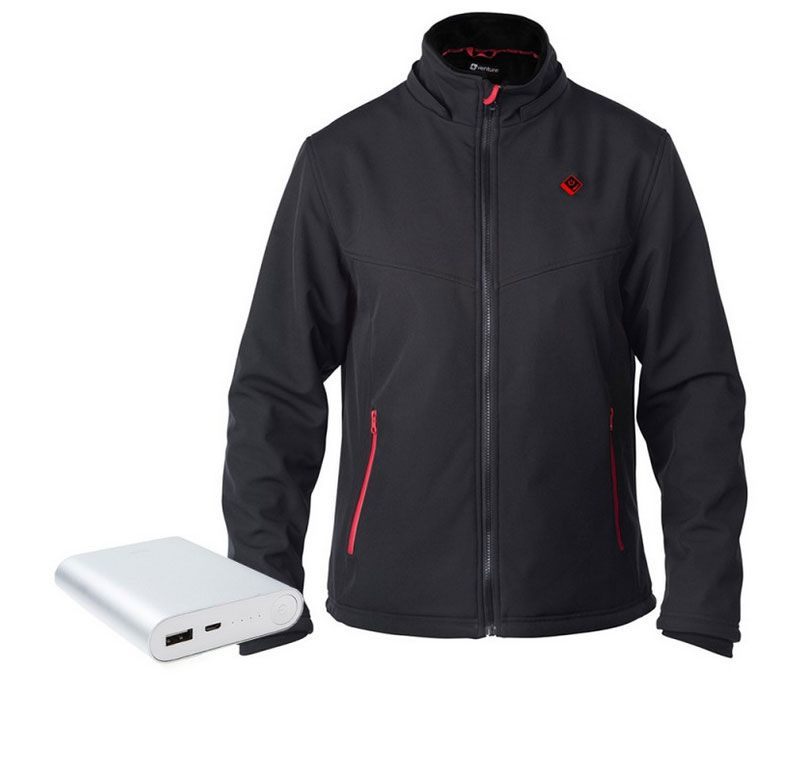 Smarkey Cordless Heated Jacket Carbon Fiber Amazon Com >> Escape Heated Jacket With Power With Usb Power Bank Heated Vest In