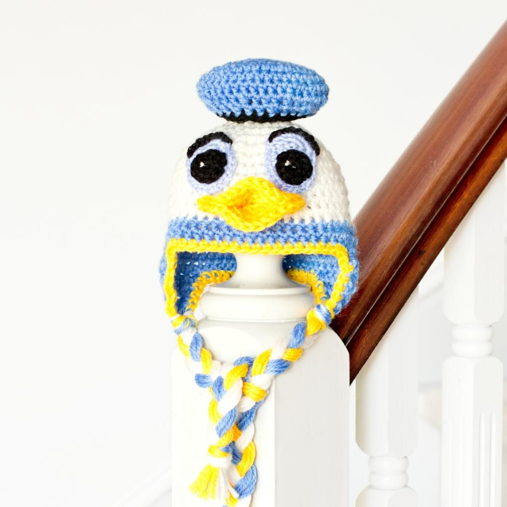 Donald duck | Crochet | Pinterest