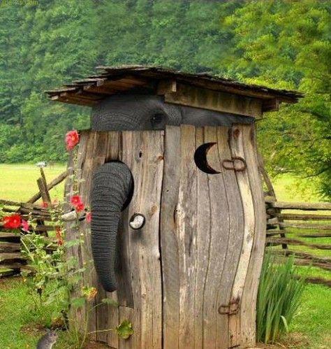 Cabane au fond du jardin toilettes - Mailleraye.fr jardin