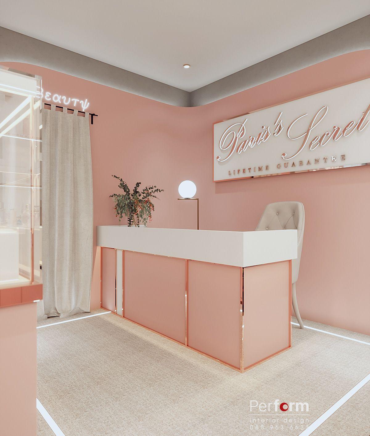 Perfume shop luxury