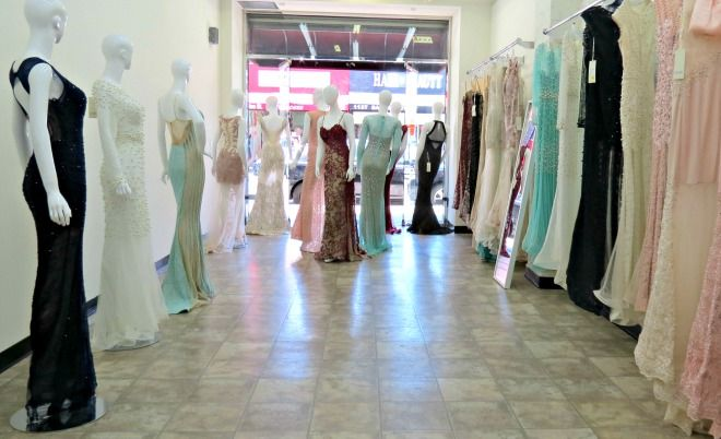 Azzure couture one of a kind dresses by the florida based for Santee alley wedding dresses