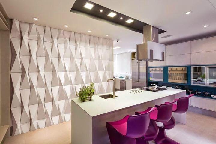 Decor revestimentos 3d revestimento revestimento 3d e for Revestimento 3d sala de estar