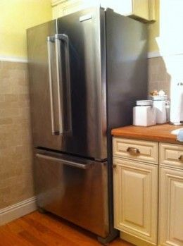 Kitchen Planning With A Counter Depth Refrigerator Counter Depth Refrigerator Kitchen Plans Counter Depth