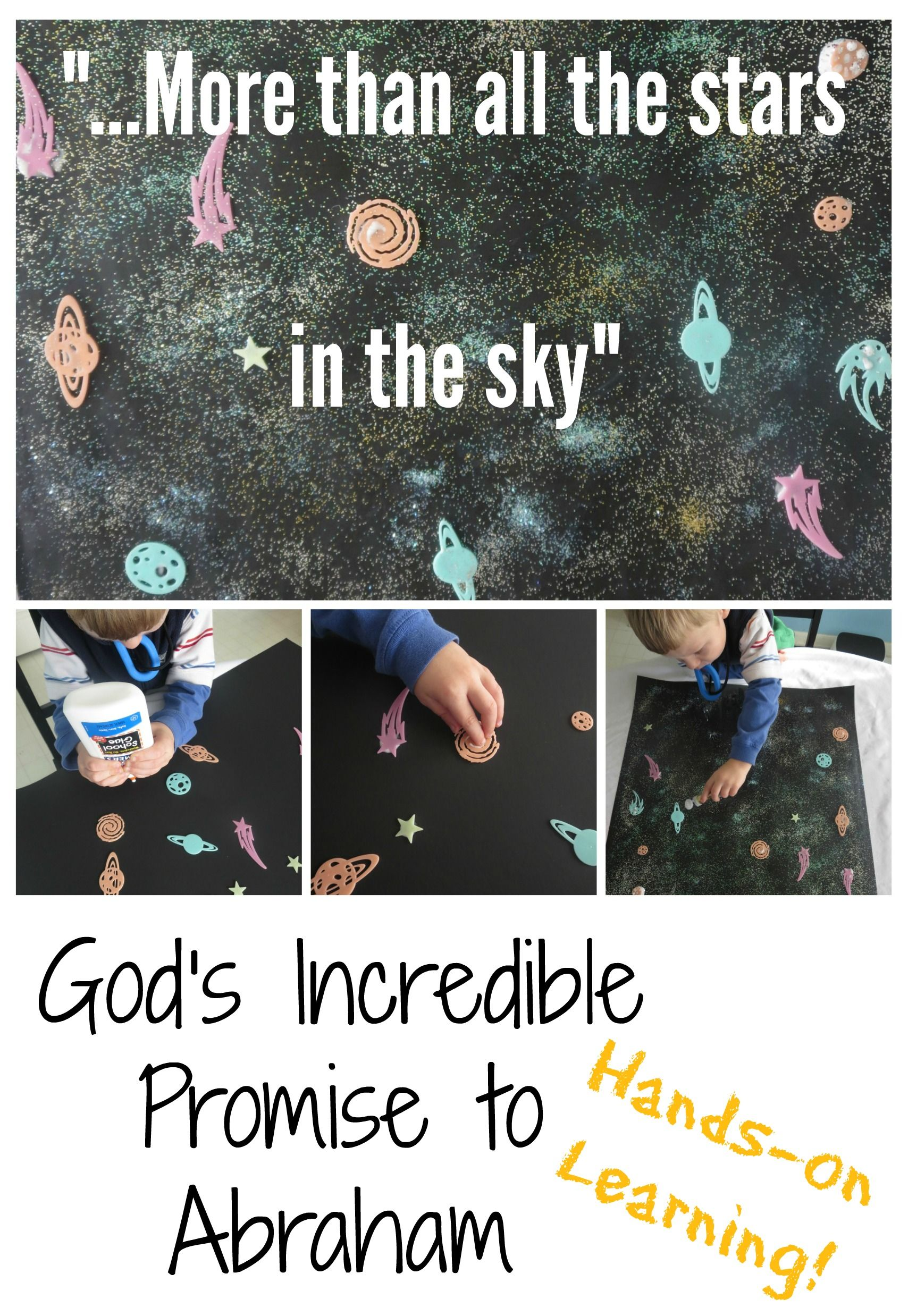 Activity For The Jesus Storybook Bible God S Incredible Promise To Abraham