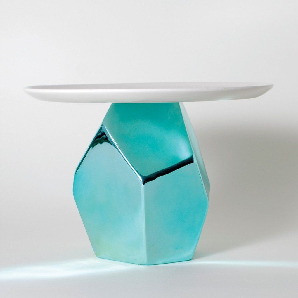 Candy Rock Blue Crystal Cake Plate | Kitchen | Pinterest | Spaces