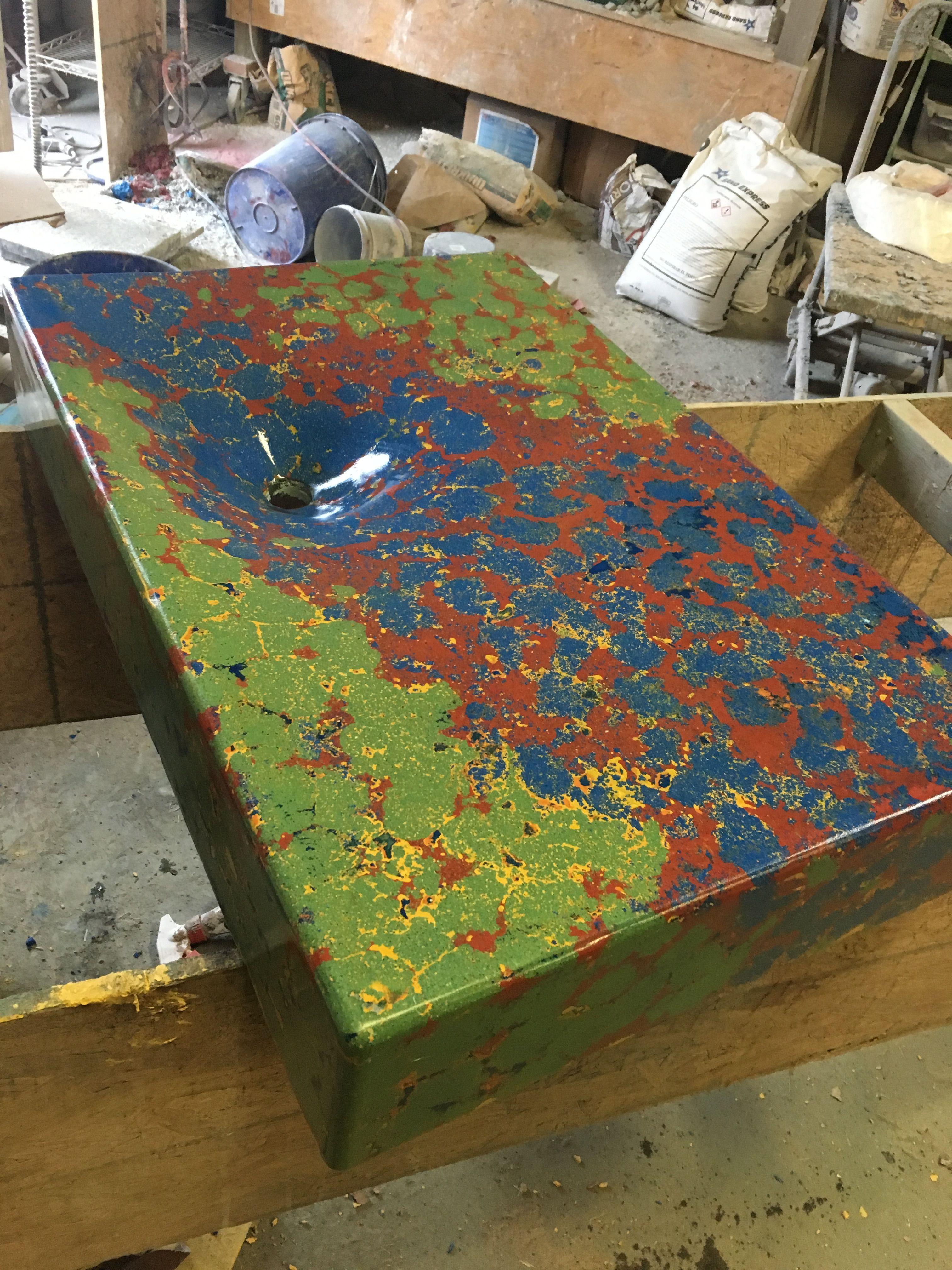 Concrete pigments for integrally colored concrete directcolors