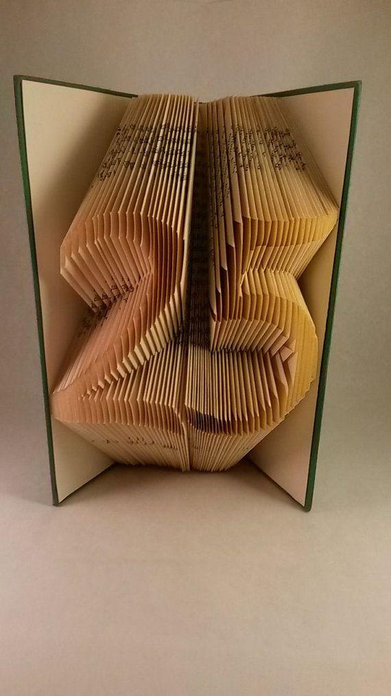 25th Birthday Gift 25th Wedding Anniversary Present Altered Book