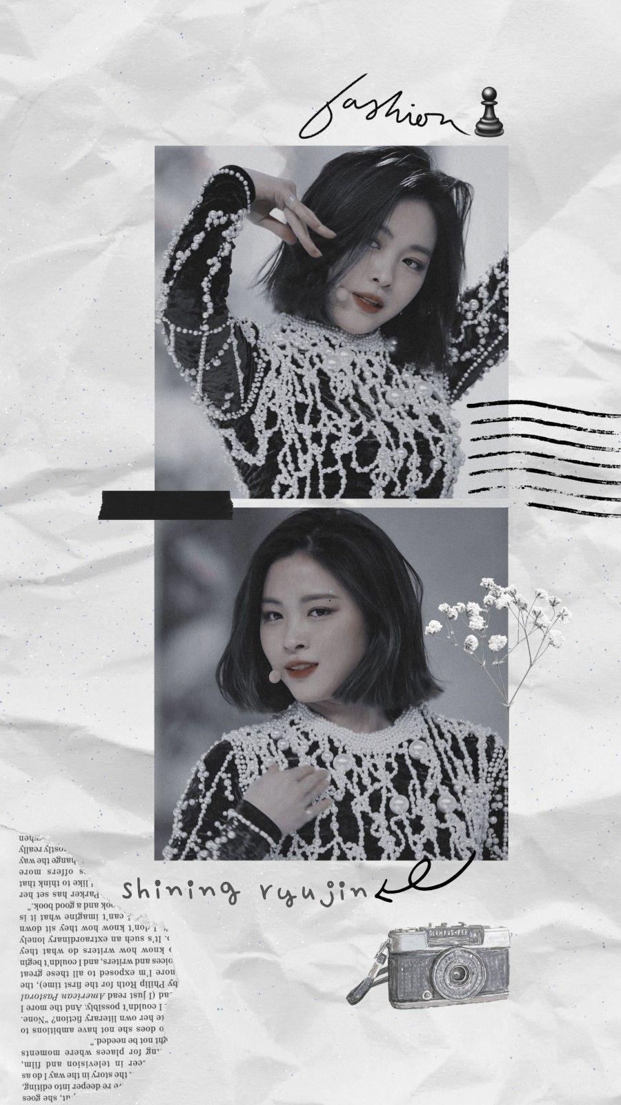 𝒄𝒂𝒆𝒓𝒖𝒍𝒆𝒖𝒔𝒆𝒅 Ryujin Aesthetic Wallpaper Gambar Tokoh Gambar Ilustrasi Lucu