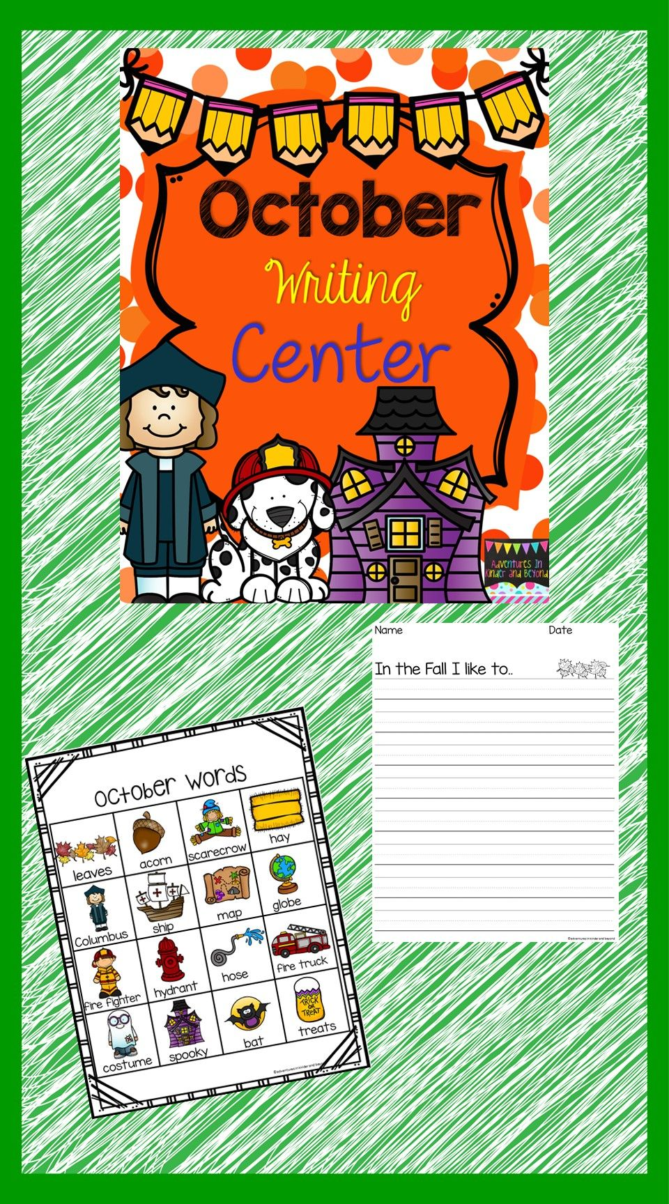 October Writing Center Writing, Writing prompts