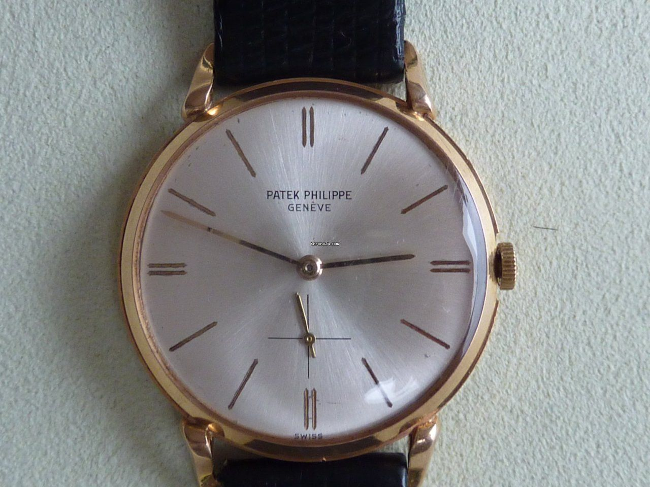 Patek Philippe Calatrava 18k Rose Gold Vintage Watch From 1962 For Gents Simply Timeless And Beautiful Patek Philippe Uhr