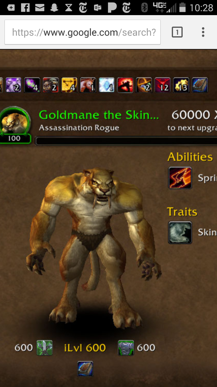 new race idea hey r wow why not make cat people not a permanent