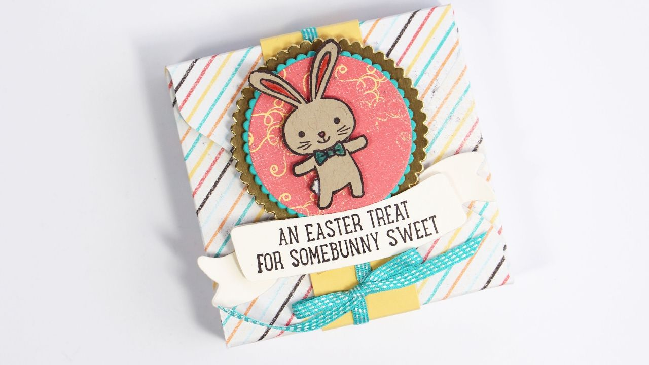 Stampin up basket bunch hershey nugget easter gift box punch stampin up basket bunch hershey nugget easter gift box punch board tutorial youtube negle Gallery