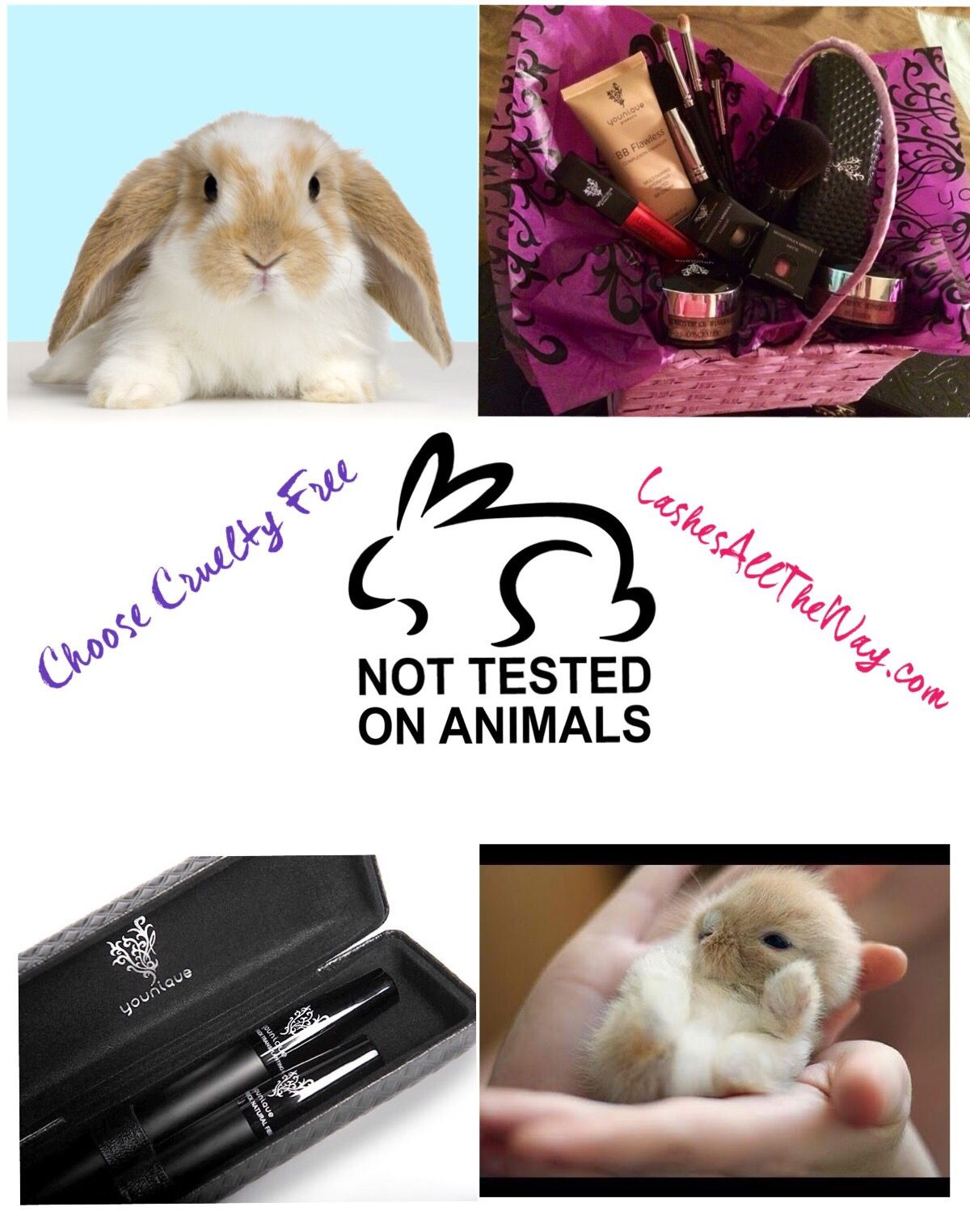 Younique is Cruelty Free Makeup!