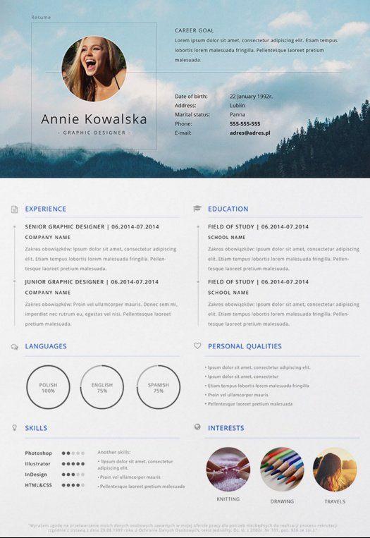 Formatos Para Curriculum Interesantes Pinterest Conseguir