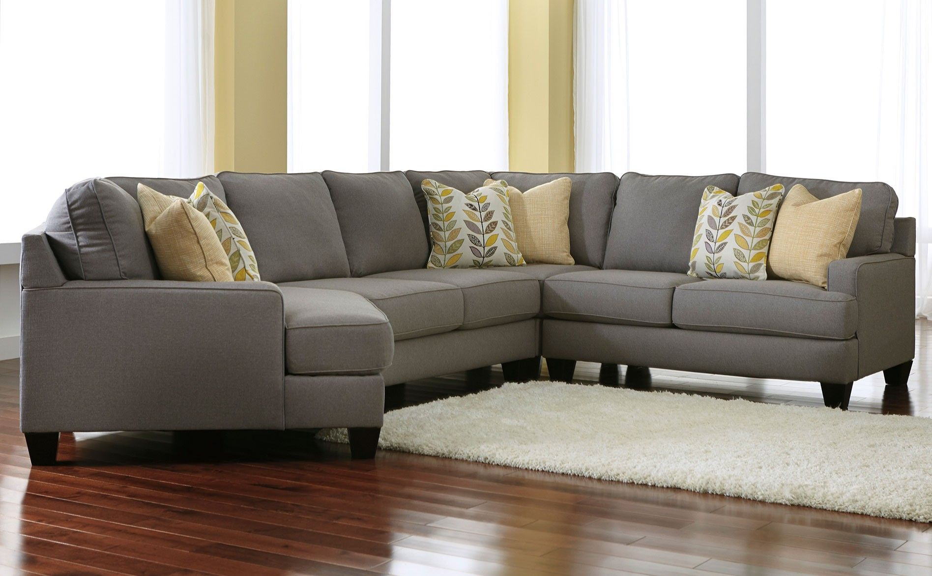 Marvelous Ashley Chamberly 4 Piece Sectional Alloy Sectionals Download Free Architecture Designs Rallybritishbridgeorg