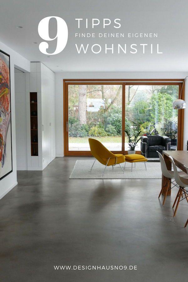 9 Tipps - finde deinen eigenen Wohnstil! - wohnzimmer modern einrichten tipps
