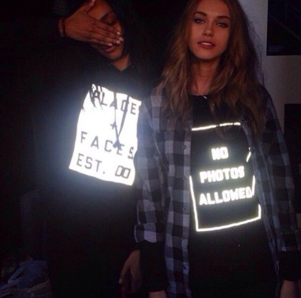 Find Out Where To Get The Reflective Clothing Edgy Fashion Outfits Jumper Shirt