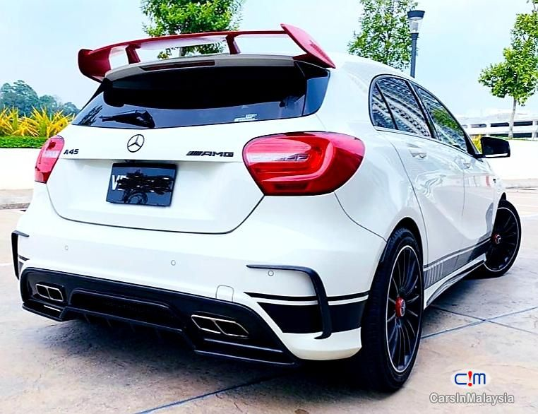 Mercedes Benz A250 Bodykit A45 Amg Sambung Bayar Continue Loan For