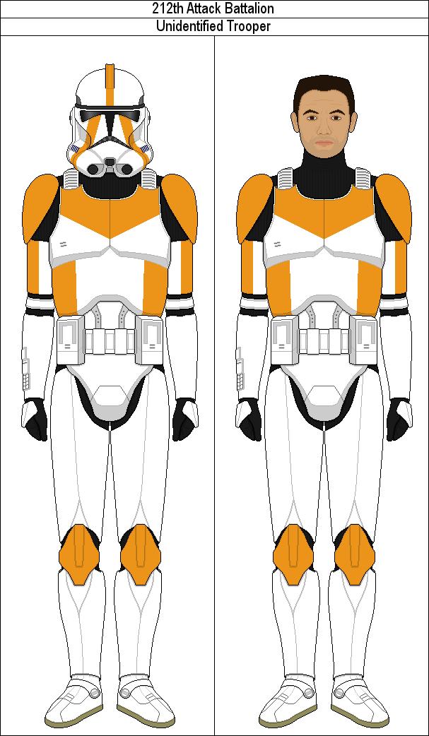 Unidentified 212th Attack Battalion Trooper By Marcusstarkiller On Deviantart Star Wars Art Star Wars Clone Wars Star Wars Fan Art