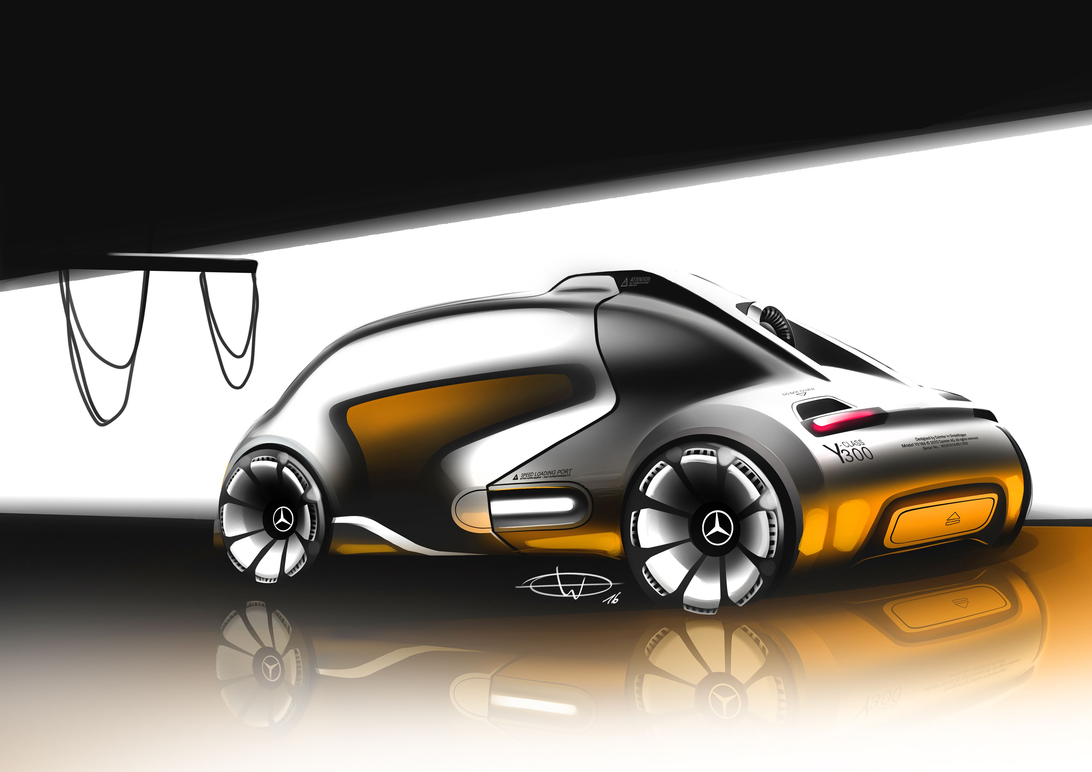 2016 Project Torben Ewe Mercedes Benz Y Class 03 35082480 The Bmw I1 Is An Electric Singleseater Trikecar Concept By Designer