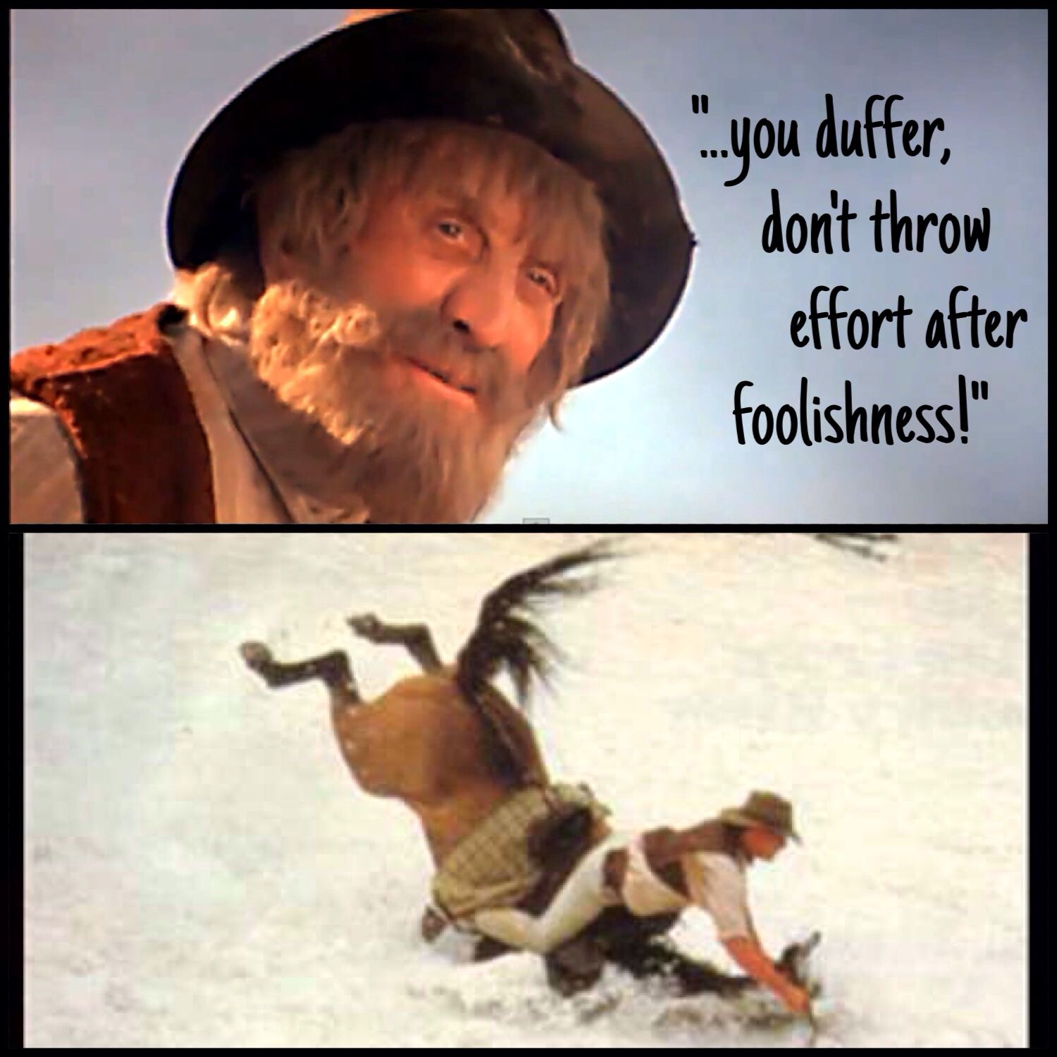 """Spur (to Jim Craig), """"The Man From Snowy River"""" Movie"""