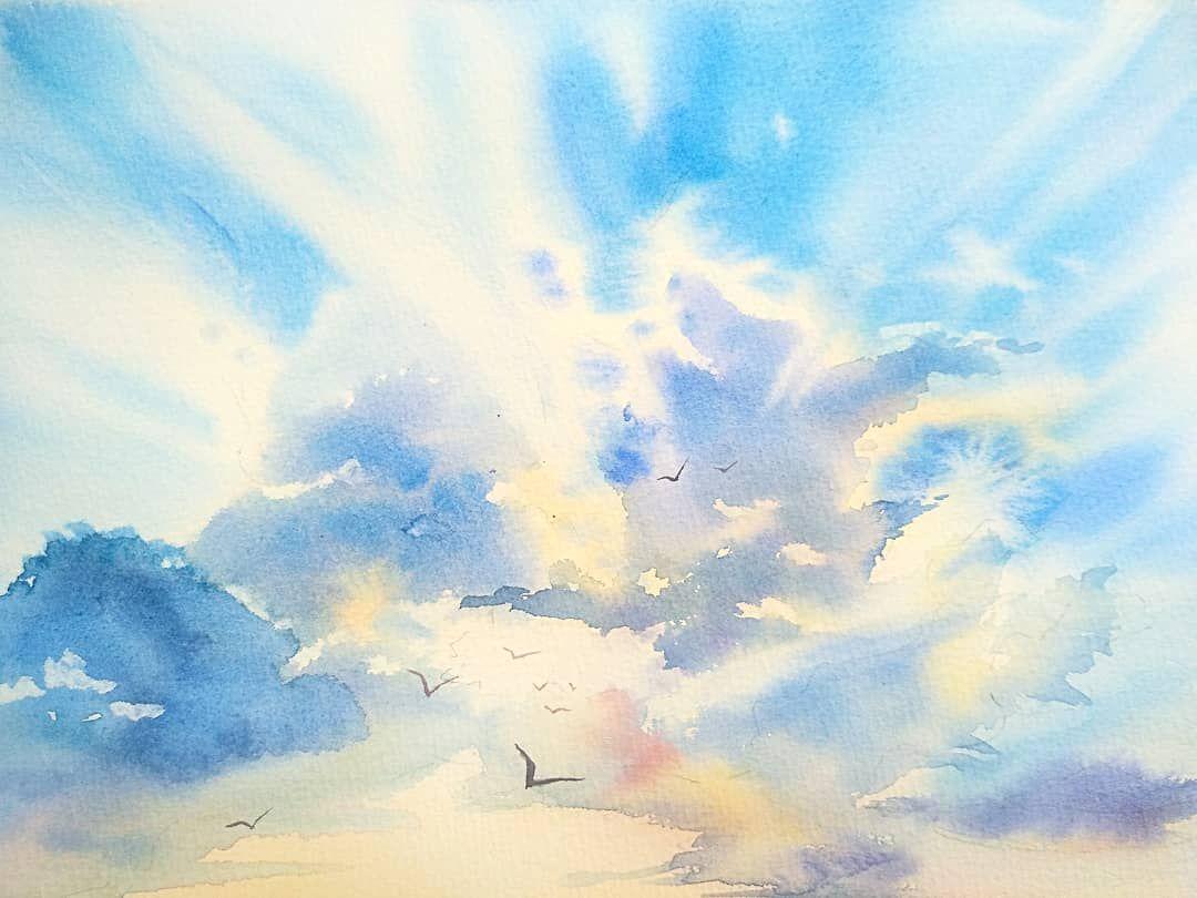 картинки я рисую тебя акварелью небес волосатые комочки