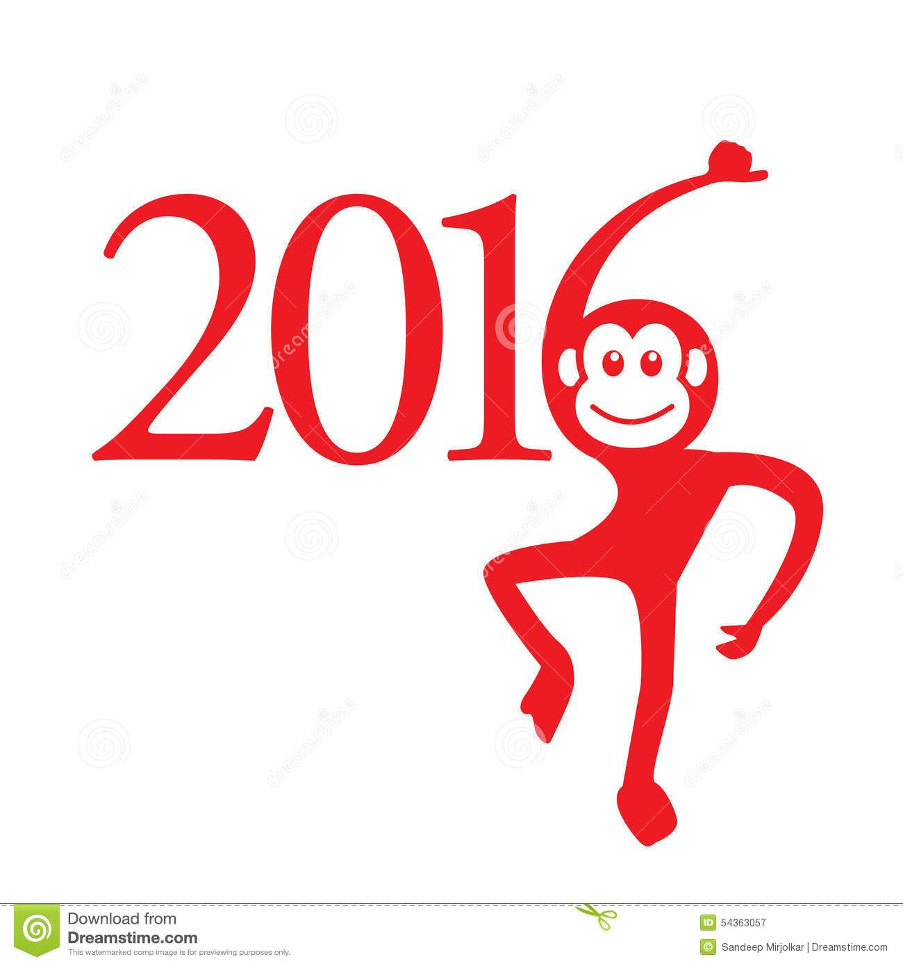Chinese new year symbol monkey google search inspiration for photo about the year of monkey chinese symbol calendar in red on figures illustration chinese new year 2016 monkey year buycottarizona