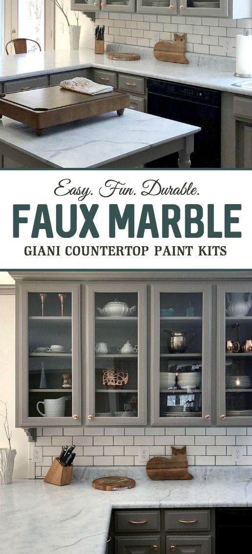 Exceptional Paint Your Countertops To Look Like Marble!! Kitchen Makeovers Have Never  Been So Easy
